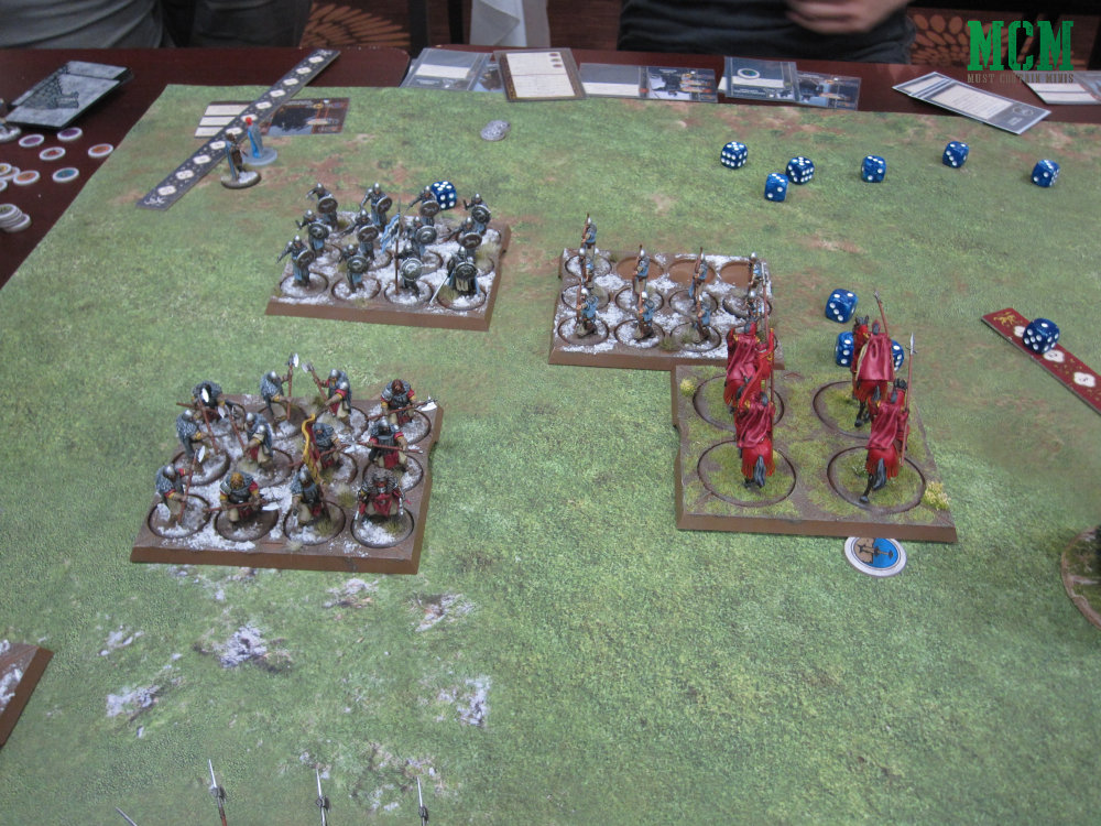 A Song of Ice and Fire Miniatures game Battle Report