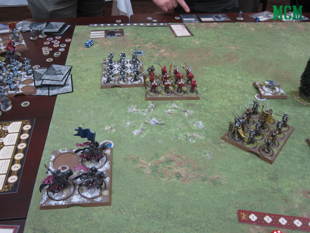 A Song of Ice and Fire Battle Report - Lannisters vs Starks