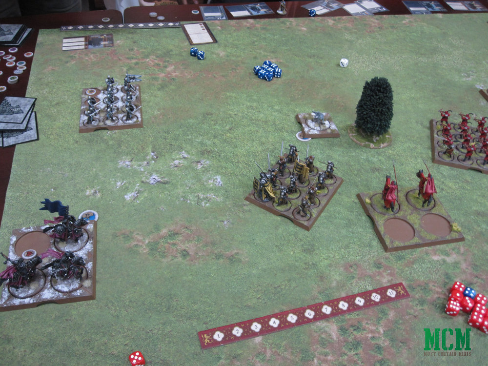 A Game of Thrones Miniatures Game - A song of ice and fire aar - Battle Report
