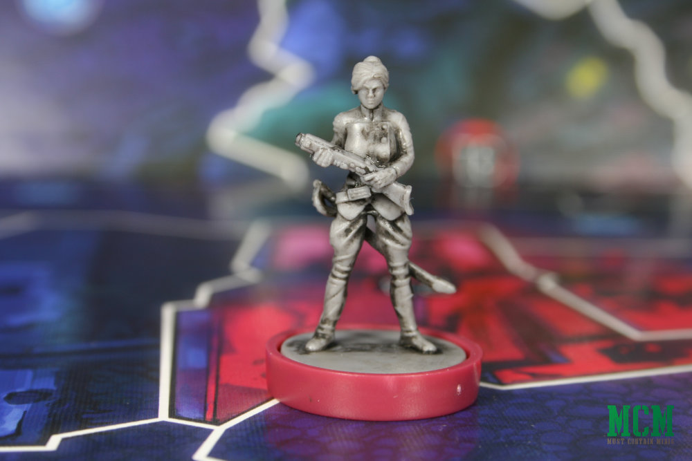 Nikolai Dante Jena Makarov miniature for Judge Dredd Helter Skelter board game