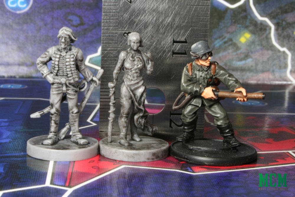 Judge Dredd Helter Skelter Miniature Scale Comparison