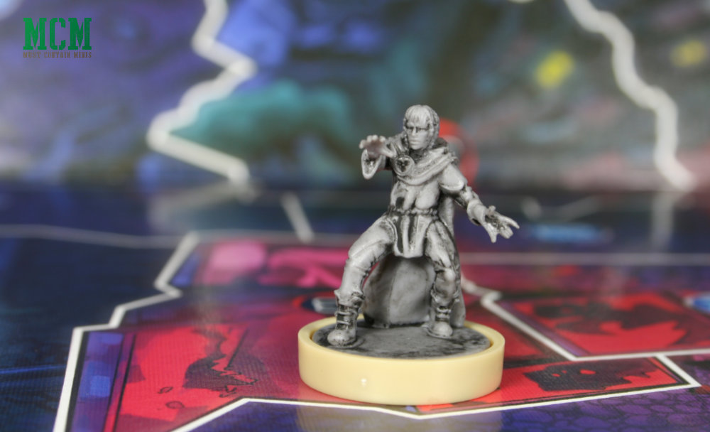 Kai Miniature from Judge Dredd Board Game