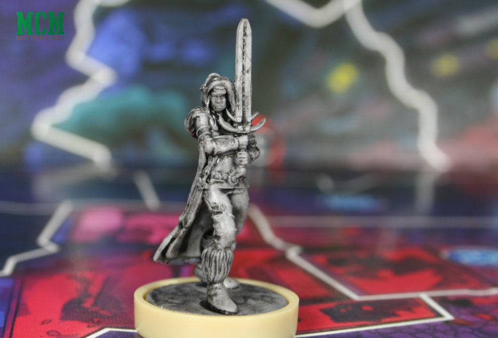 Niamh Miniature from Judge Dredd board game