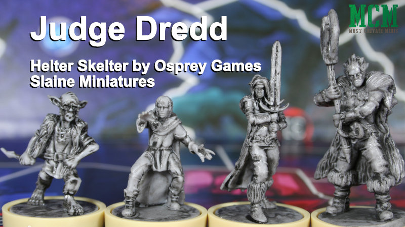 Slaine Miniatures in Judge Dredd Board Game