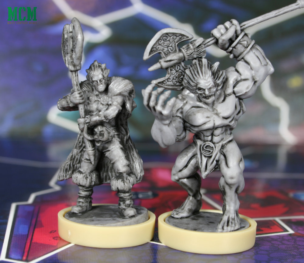 Slaine and Warp-Slaine Miniatures