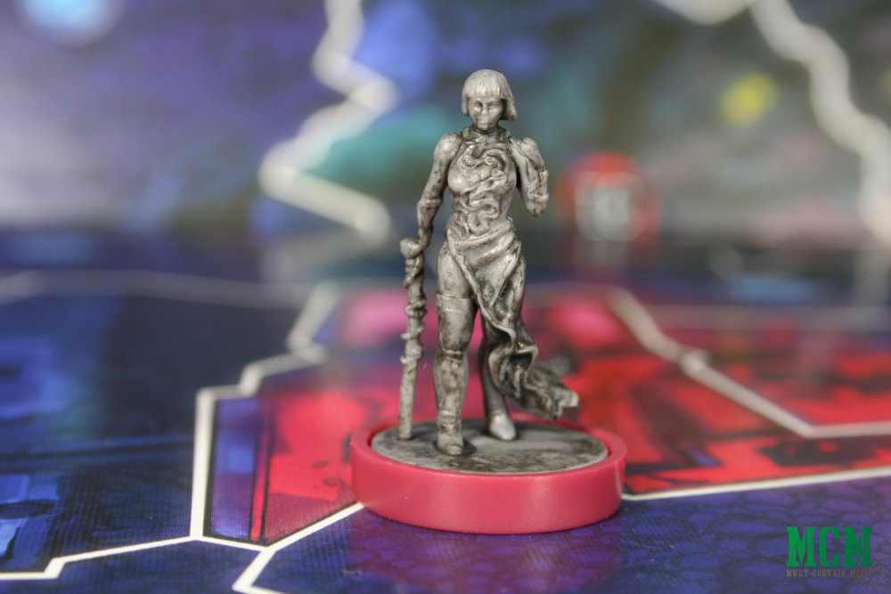 Lulu Romanov in Osprey Games Judge Dredd Helter Skelter board game - Nikolai Dante miniature