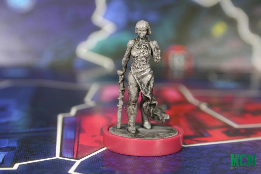 Lulu Romanov in Osprey Games Judge Dredd Helter Skelter board game - Nikolai Dante miniature