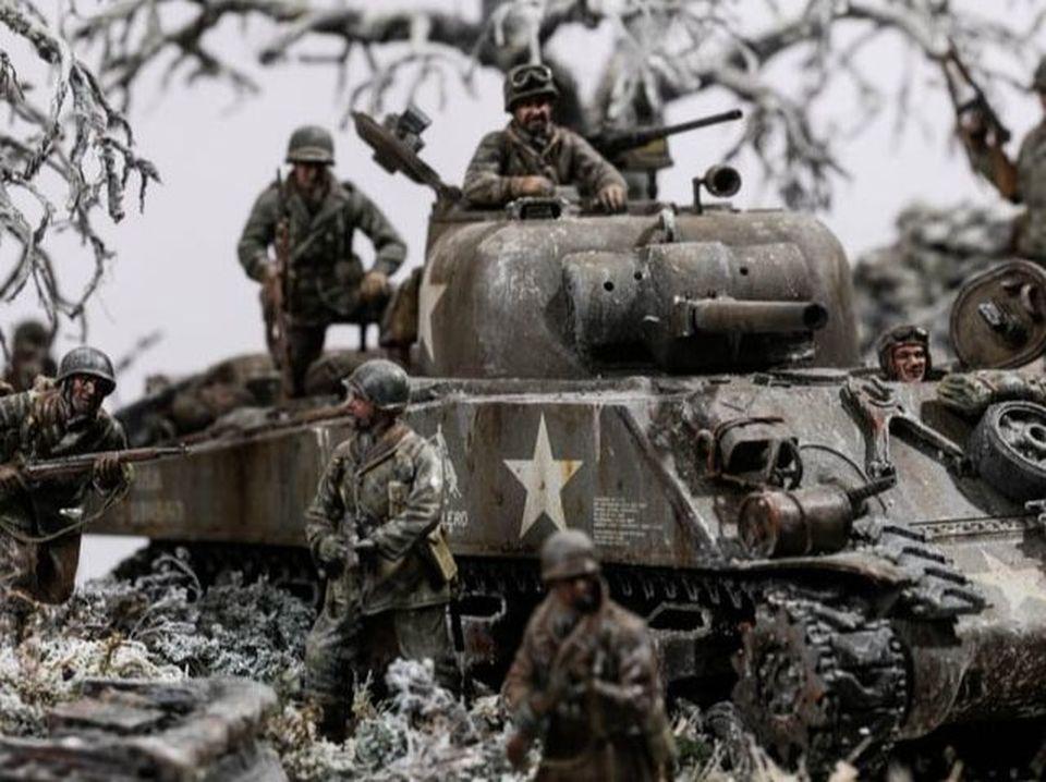WW2 Military Diorama by Marcus Neiman