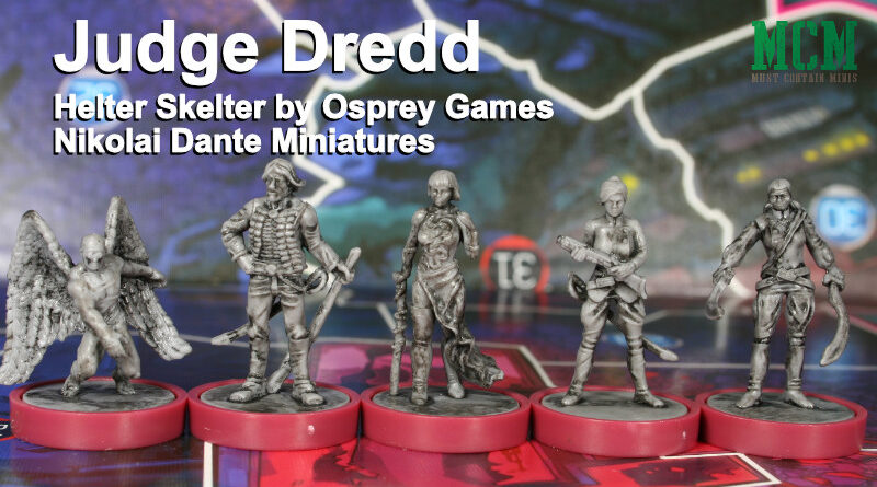 Nikolai Dante Gang Miniatures 28mm Judge Dredd Helter Skelter