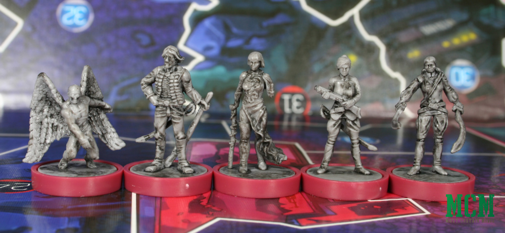 Nikolai Dante Miniatures in Osprey Games Judge Dredd Helter Skelter Board Game