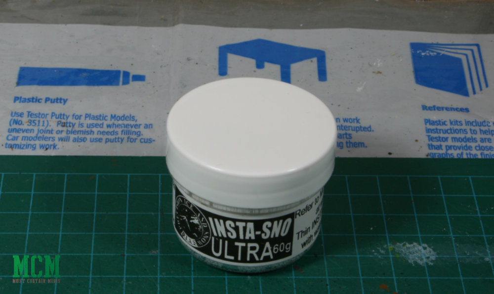 Snow Wash for miniatures