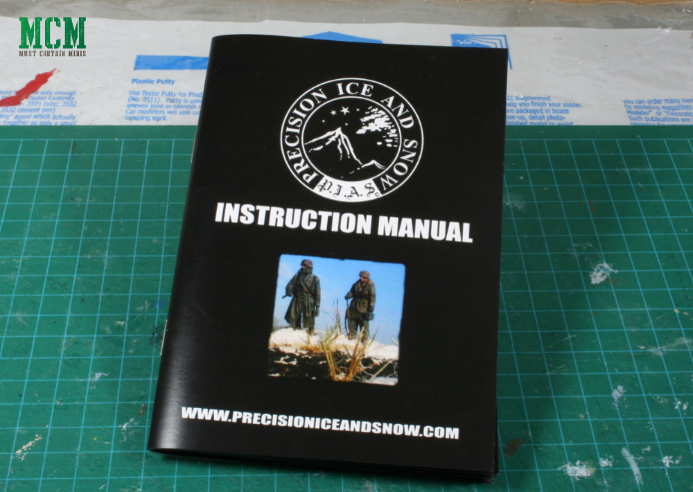 Precision Ice and Snow Instruction Manual