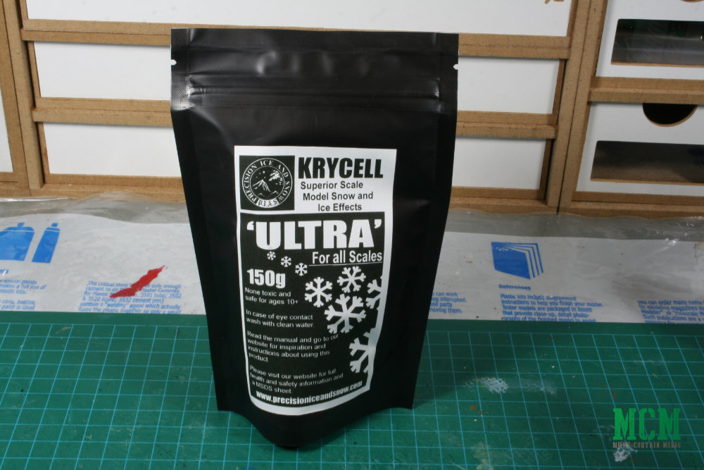 Ultra Snow for basing miniatures