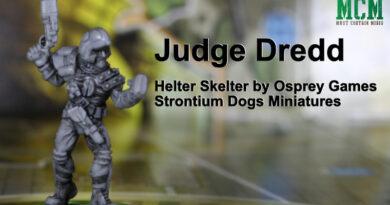 Strontium Dog Miniatures - Osprey Games - Judge Dredd Board Game