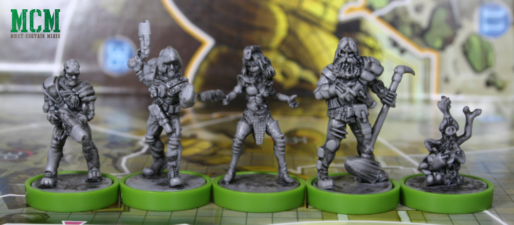 Strontium Dog Miniatures - Osprey Games Judge Dredd Helter Skelter