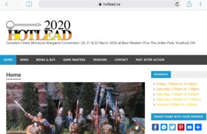 Hotlead – March 20 to 22 – 2020