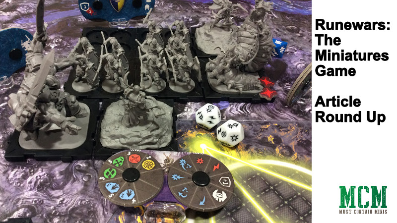 Runewars the Miniatures Game Article Round Up