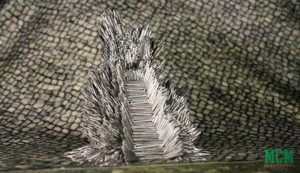 Game of Thrones Sword Throne Miniature