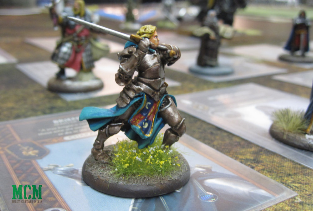 A Song of Ice and Fire Miniatures Brienne painted