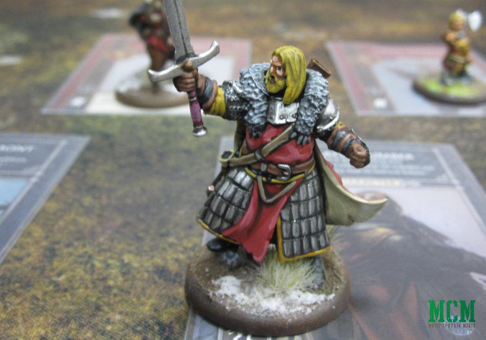 Greatjon Umber CMON Miniature Painted