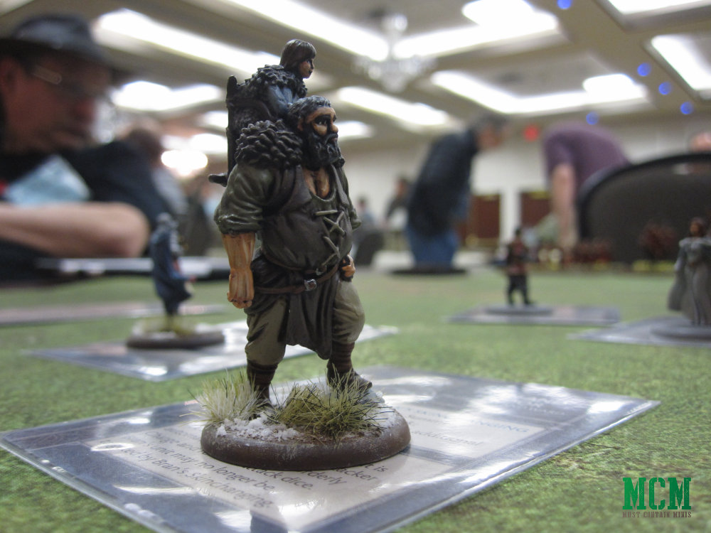 Bran and Hodor Painted Miniature