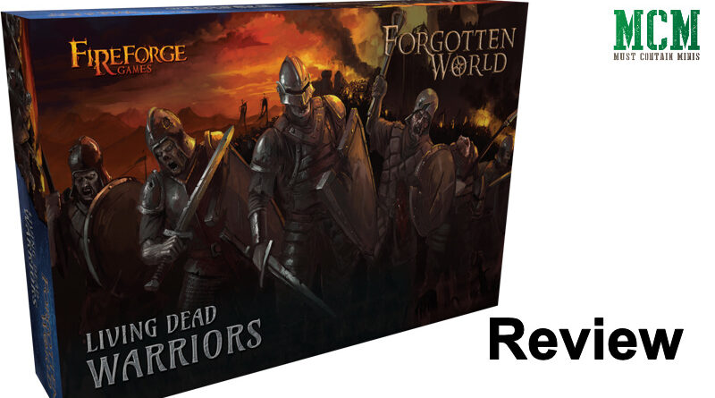 Review of Fireforge Games Living Dead Warriors - miniatures by Fireforge Games