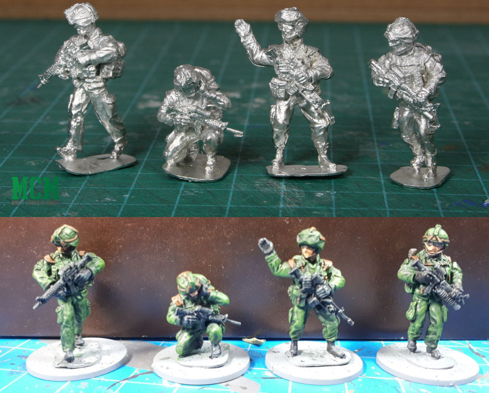 Full Battle Rattle - 28mm Modern Canadian Soldiers - Canadian Miniatures Gaming Companies