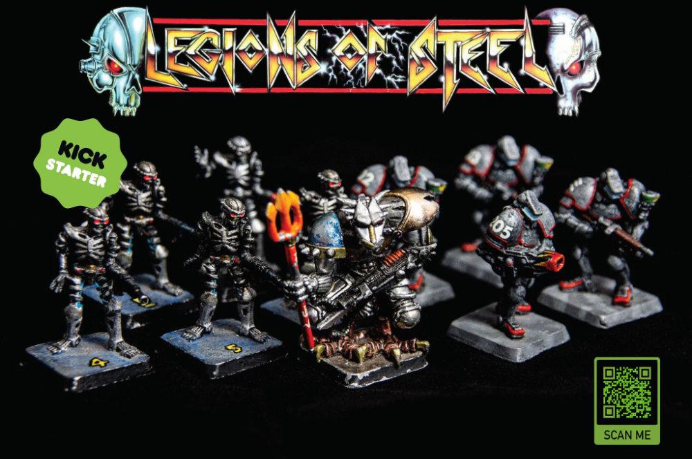Legions of Steel miniature board game