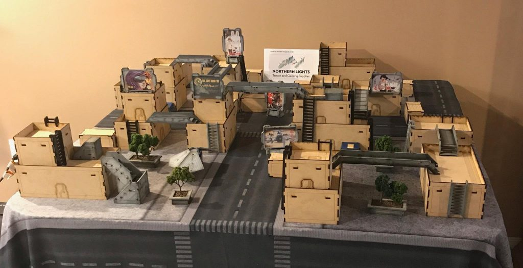 Sci-Fi MDF Terrain for Infinity - Canadian Miniatures Gaming Companies