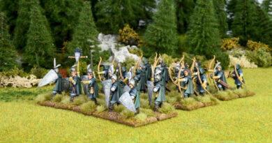 Oathmark Elf Light Infantry