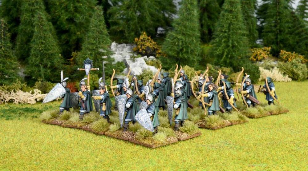 Oathmark Elf Light Infantry Preview