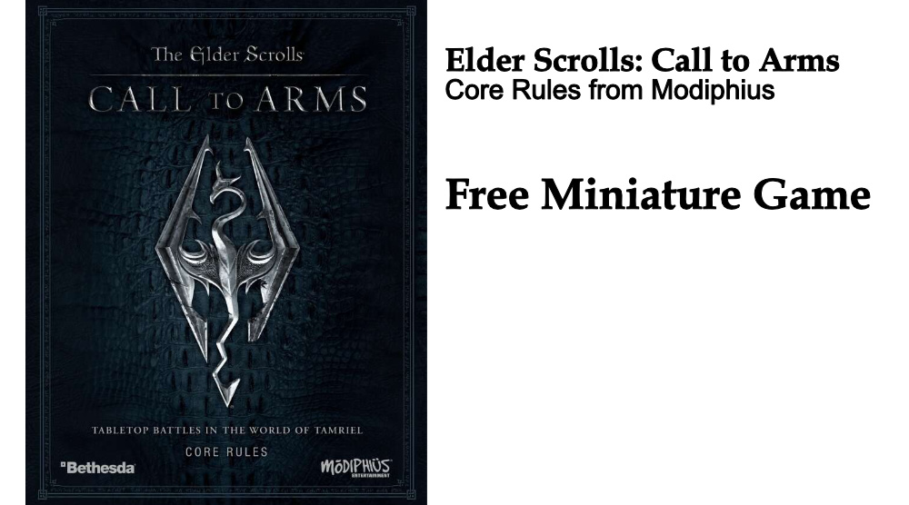 Free Rules – The Elder Scrolls: Call to Arms