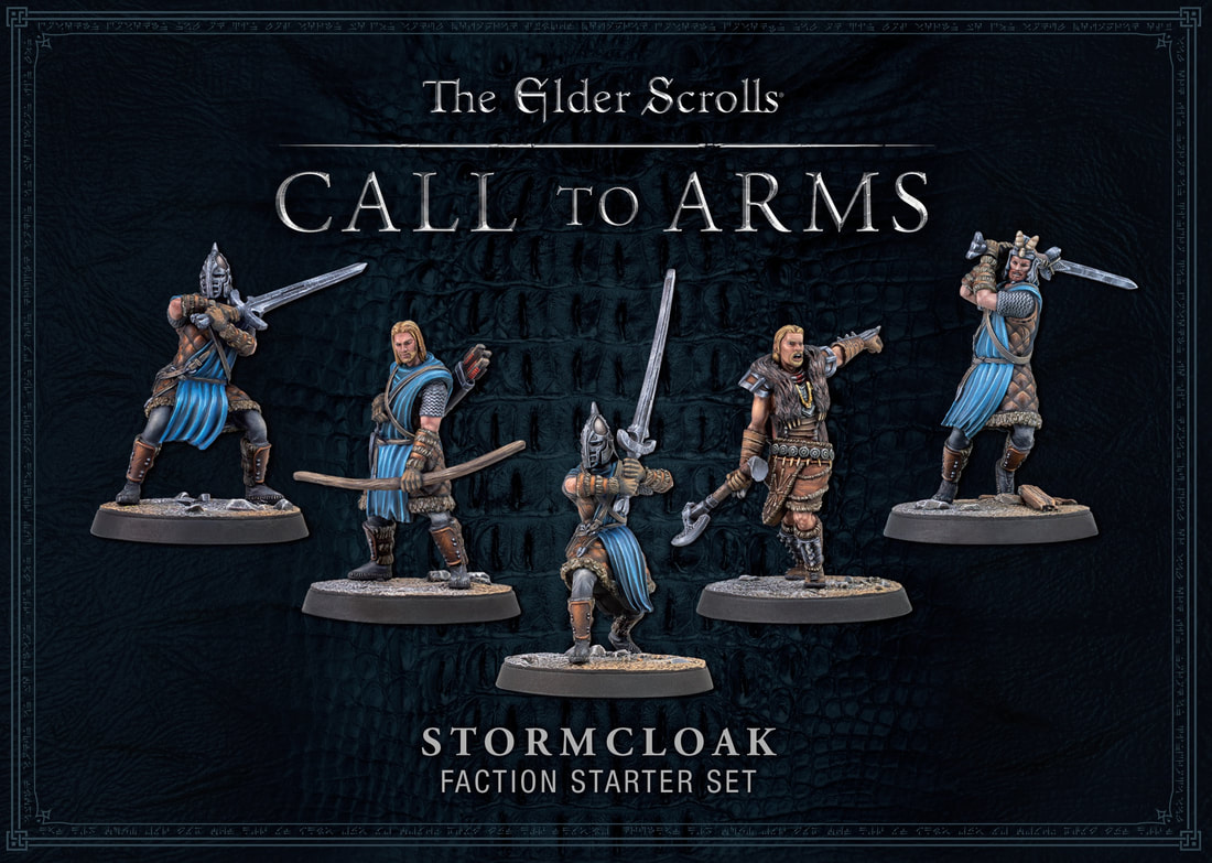 The Stormcloak Faction Starter Set for Elder Scrolls Call To Arms