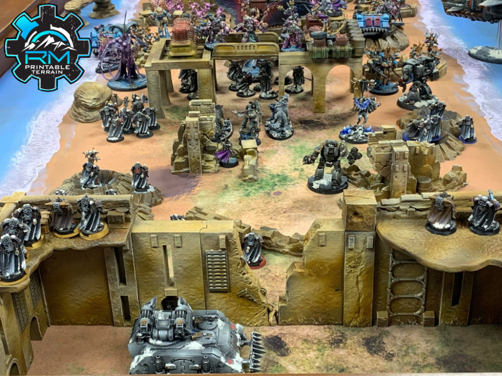 Arvalon 8 Kickstarter Preview - Desert Planet 3D printer terrain
