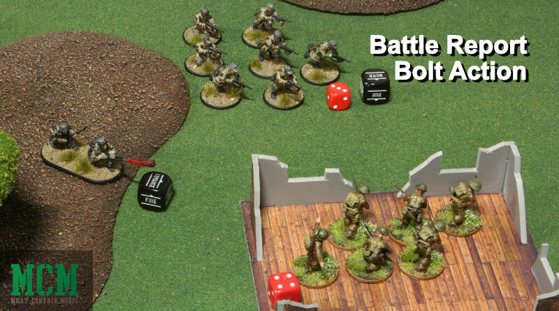 Bolt Action 1250 Point Key Positions British versus German Battle Report