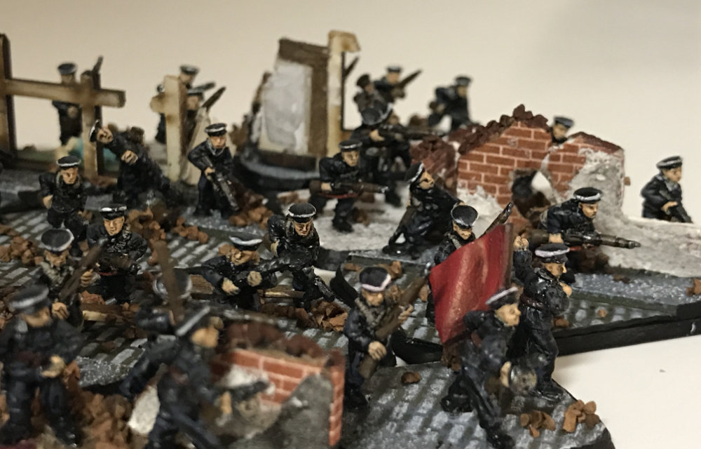 Miniatures painted by Brenden Brown - 15mm WW2 wargaming