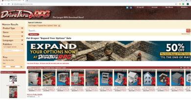 Fat Dragon Games 3D Printer Terrain (STL file) and Paper Terrain (PDF) sale