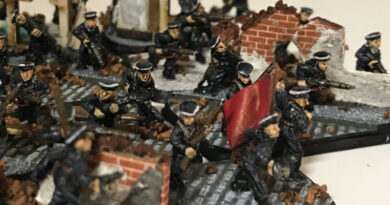 Strelkovy Platoon (Naval) Infantry miniatures for Flames of War 15mm
