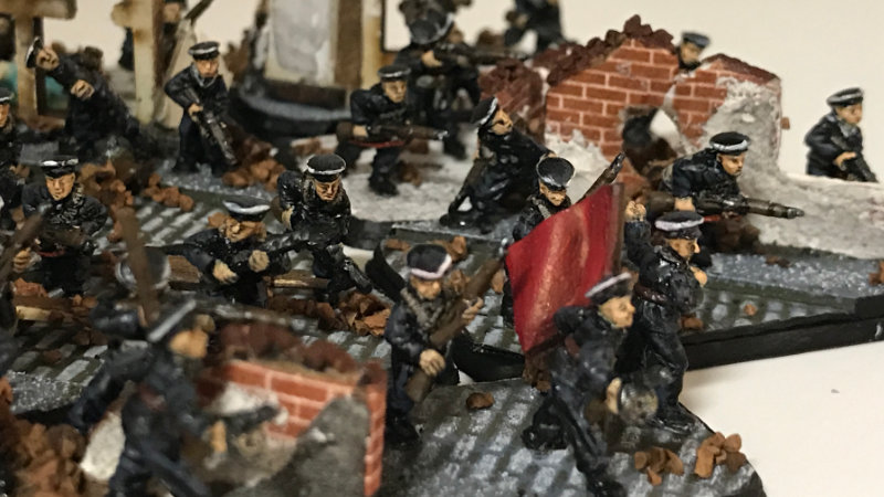 Brenden's Strelkovy Platoon (Naval) – Flames of War