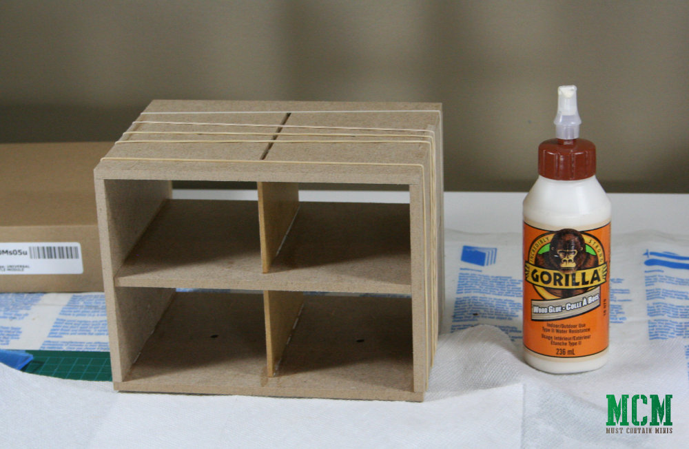 Using Gorilla Glue on the Hobby Workshop