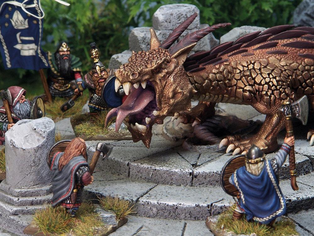 Armies of Oathmark - using dragons