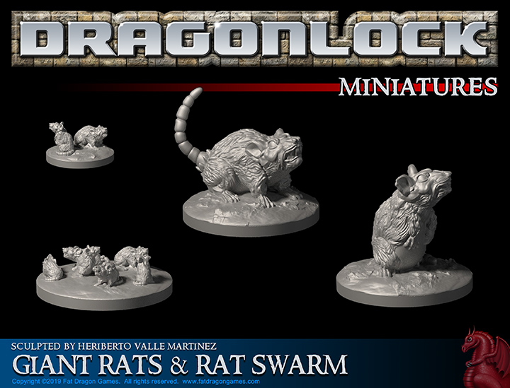 Evil Rat Miniatures in the Fat Dragon Games Sale