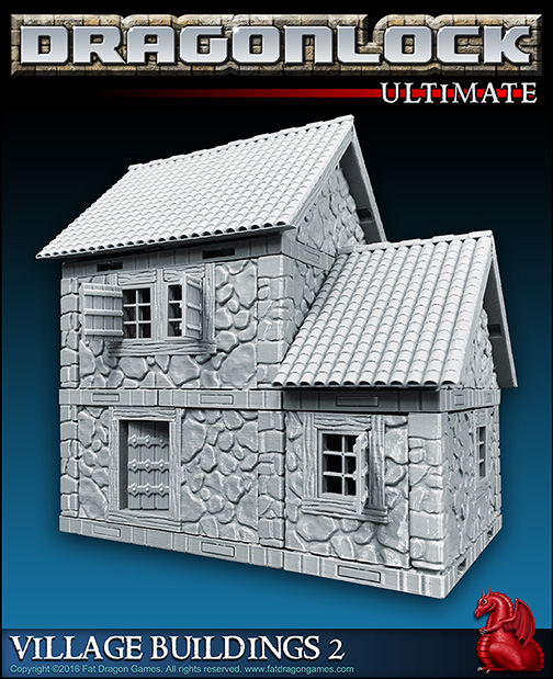 Printer Terrain Sale - Dragonlock houses