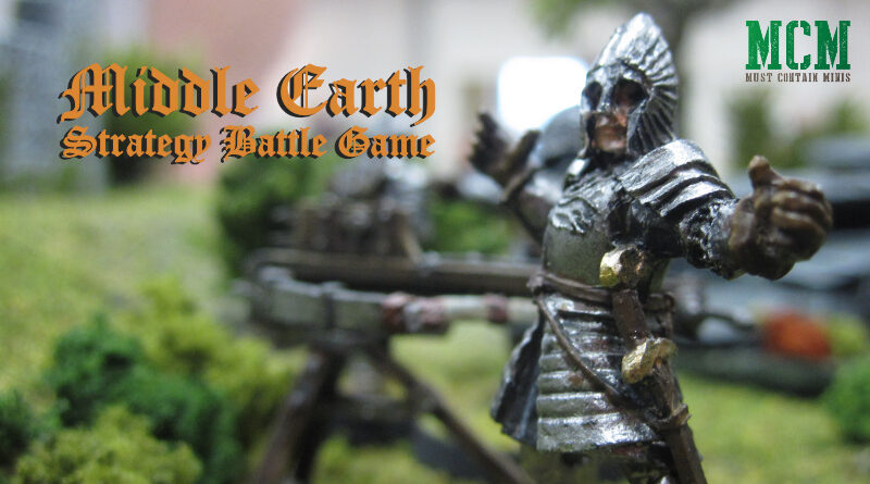 Middle Earth Strategy Battle Game Battle Report