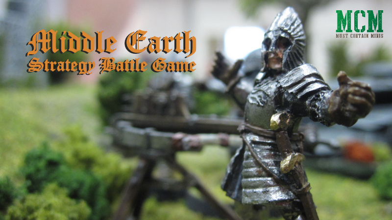 Middle-Earth Strategy Battle Game – Battle Report