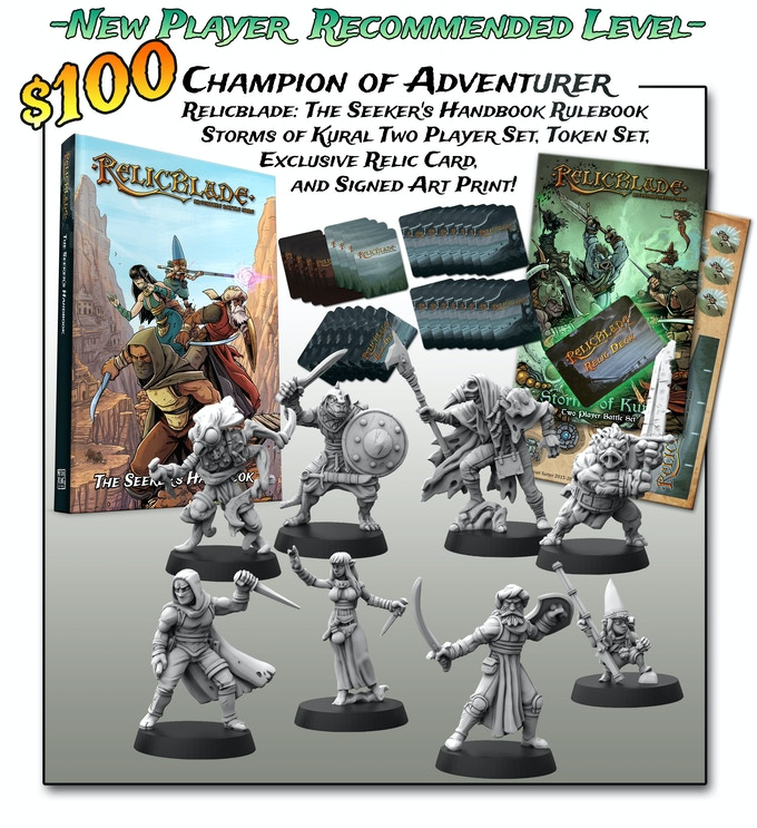 Relicblade Storms of Kural 2-player starter set