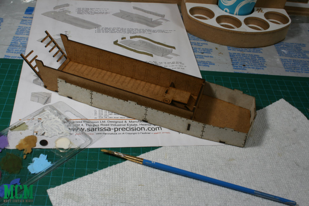 Sarissa Precision LCVP Higgins 28mm Bolt Action Boat Review