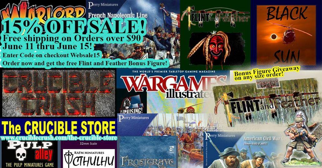 Crucible Crush Sale!!!