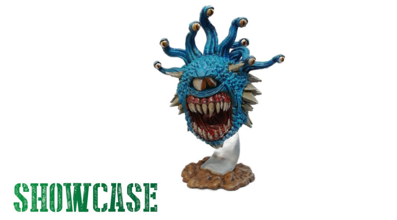 WizKids Beholder Miniature for Dungeons and Dragons or Frostgrave