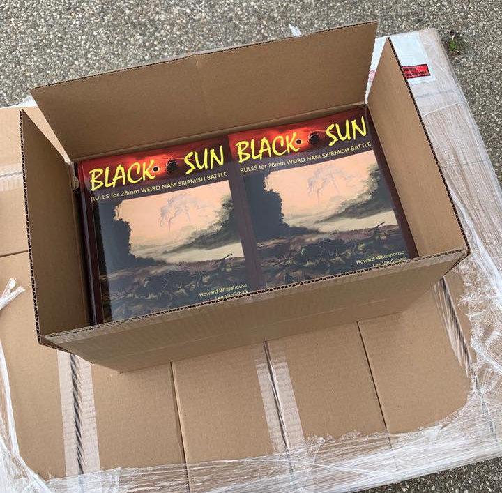 Black Sun the Miniatures Game arrives at Crucible Crush.